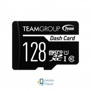 MicroSDXC 128GB UHS-I Class 10 Team Dash Card + SD-adapter (TDUSDX128GUHS03)