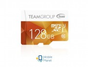 MicroSDXC 128GB UHS-I Team Color Yellow (TCUSDX128GUHS02)