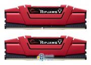 G.SKILL 8GB 2400MHz RipjawsV Red CL15 (2x4096) (F4-2400C15D-8GVR) EU