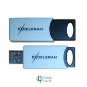 eXceleram 128GB H2 Series White/Black USB 3.1 Gen 1 (EXU3H2W128)