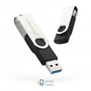 eXceleram 128GB P1 Series Silver/Black USB 3.1 Gen 1 (EXP1U3SIB128)