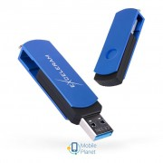 eXceleram 128GB P2 Series Blue/Black USB 3.1 Gen 1 (EXP2U3BLB128)