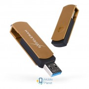 eXceleram 128GB P2 Series Brown/Black USB 3.1 Gen 1 (EXP2U3BRB128)