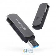 eXceleram 128GB P2 Series Gray/Black USB 3.1 Gen 1 (EXP2U3GB128)