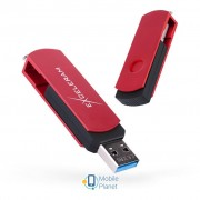 eXceleram 128GB P2 Series Red/Black USB 3.1 Gen 1 (EXP2U3REB128)