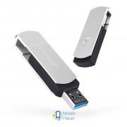 eXceleram 128GB P2 Series Silver/Black USB 3.1 Gen 1 (EXP2U3SIB128)