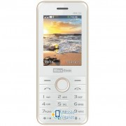 Maxcom MM136 White-Gold (5908235973500)