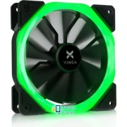 Кулер для корпуса Vinga LED fan-01 green