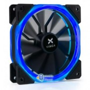 Кулер для корпуса Vinga LED fan-02 blue