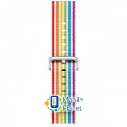 Ремешок Apple Woven Nylon Band for Watch 42-44mm Pride Edition (MRY32)
