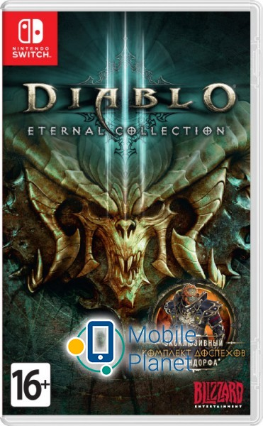 blizzard entertainment Diablo 3 Eternal Collection RUS (NintendoSwitch)