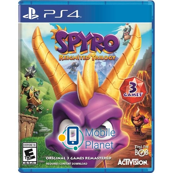 activision Spyro Reignited Trilogy ENG (PS4)