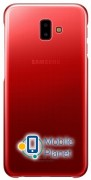 Чехол Samsung Gradation Cover Red J6 Plus 2018 (EF-AJ610CREGRU) Госком
