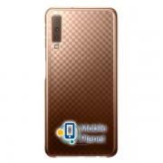 Чехол Samsung Gradation Cover Gold A7 2018 (EF-AA750CFEGRU) Госком