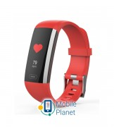 Фитнес трекер ERGO Fit Band HR BP F010 Black (FITF010)
