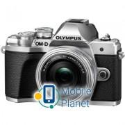 OLYMPUS E-M10 mark III Pancake Zoom 14-42 Kit silver/silver (V207072SE000)