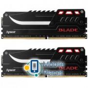 DDR4 32GB (2x16GB) 3000 MHz Blade Fire-Red Apacer (EK.32GAZ.GJDK2)