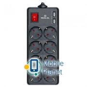 REAL-EL RS-8 PROTECT USB, 1.8m, black (EL122300019)
