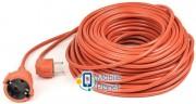 PowerPlant JY-3024/40 (PPCA10M400S1) 1 розетка, 40 м, оранжевый