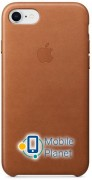 Аксессуар для iPhone Apple Leather Case Saddle Brown (MQH72) for iPhone 8/7