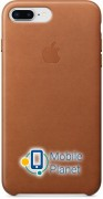 Аксессуар для iPhone Apple Leather Case Saddle Brown (MQHK2) for 8 Plus / 7 Plus