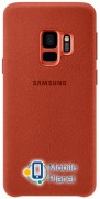Чехол Samsung Alcantara Cover S9 (EF-XG960AREGRU) Red