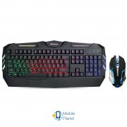 REAL-EL Gaming 9500 Kit Backlit, black