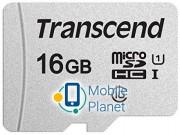 Transcend microSDHC 300S 16GB UHS-I U1 No Adapter (TS16GUSD300S)