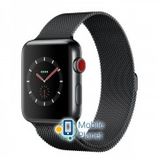 Apple Watch Series 3 (GPS Cellular) 42mm Stainless Steel w. Milanese Loop (MR1V2)