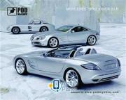 Podmyshku Mercedes Vision SLR
