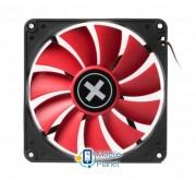 Вентилятор Xilence XPF140.R (XF050), 140х140х25мм, 3-pin+4-pin, Black/Red