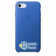 Аксессуар для iPhone Apple Leather Case Electric Blue (MRG52) for iPhone 8 / 7
