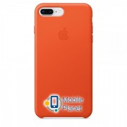 Аксессуар для iPhone Apple Leather Case Bright Orange (MRGD2) for iPhone 8 Plus / 7 Plus