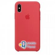 Аксессуар для iPhone Apple Silicone Case Red Raspberry (MRG12) for iPhone X