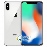 Apple iPhone X 256Gb Silver (MQAG2) (Apple refurbished)