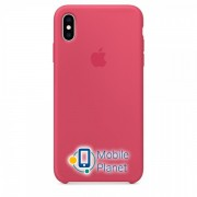 Аксессуар для iPhone Apple Silicone Case Hibiscus (MUJT2) for XS