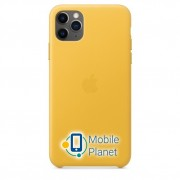 Аксессуар для iPhone Apple Leather Case Meyer Lemon (MX0A2) for 11 Pro Max