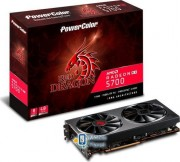 Power Color Radeon RX 5700XT Red Dragon 8GB GDDR6 (AXRX 5700XT 8GBD6-3DHR/OC) EU