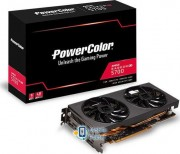Power Color Radeon RX5700 8GB GDDR6 (AXRX 5700 8GBD6-3DH/OC) EU