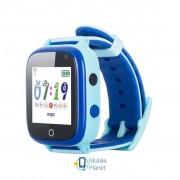Смарт-часы Ergo GPS Tracker Color C020 - Детский трекер (Blue) (GPSC020B)