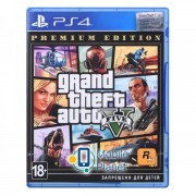 Gta V Premium Online Edition (PS4) UA