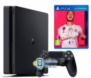 Sony Playstation 4 Slim 1Tb Black + Fifa 20