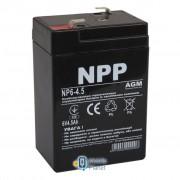 NPP 6В 4.5 Ач (NP6-4.5)