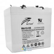 Ritar AGM RA12-55, 12V-55Ah (RA12-55)