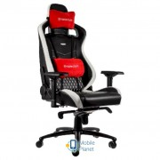 Noblechairs Epic Series Real Leather Blck/Wht/Red (GAGC-034)
