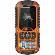 Sigma mobile X-treame IT67M Single Sim black-orange Госком