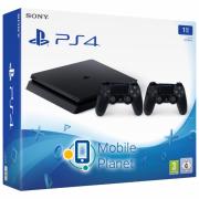 Sony Playstation 4 Slim 1Tb Black + DualShock 4