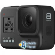 GoPro Hero 8 Black (CHDHX-801-RW) +внешняя батарея+монопод+карта памяти+крепление на голову