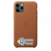 Аксессуар для iPhone Apple Leather Case Saddle Brown (MWYD2) for 11 PRO