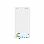 Портативная батарея Xiaomi ZMi Aura PowerBank 20000mAh QC3.0 Type-C White (QB821)